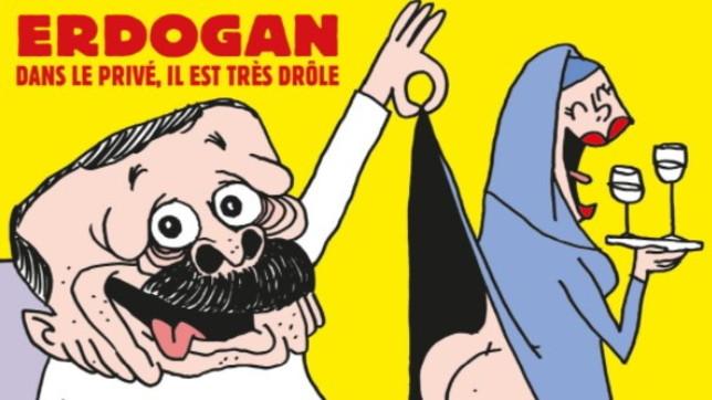 Turchia contro Charlie Hebdo