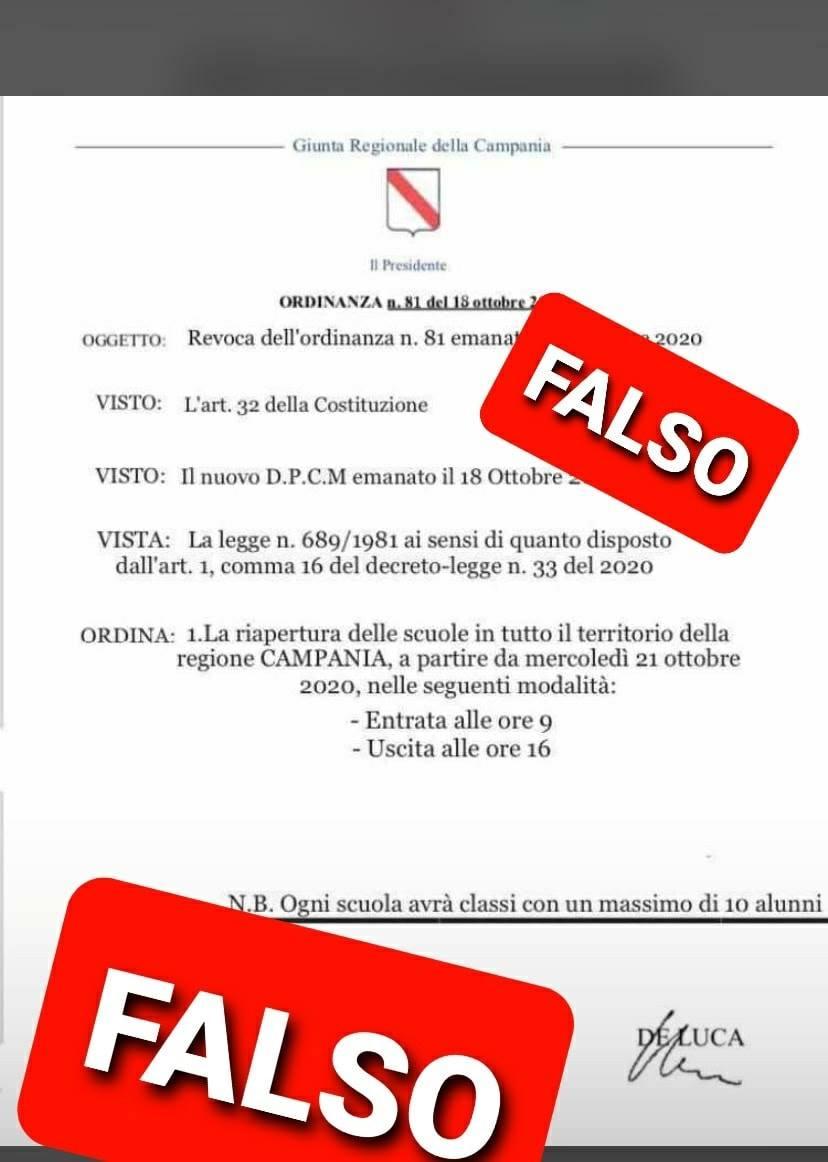 Campania fake news