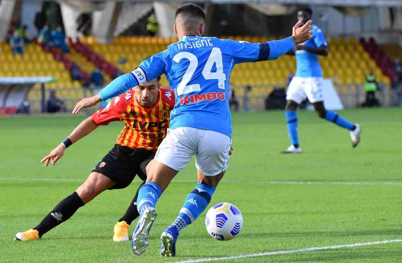 Benevento Napoli highlights