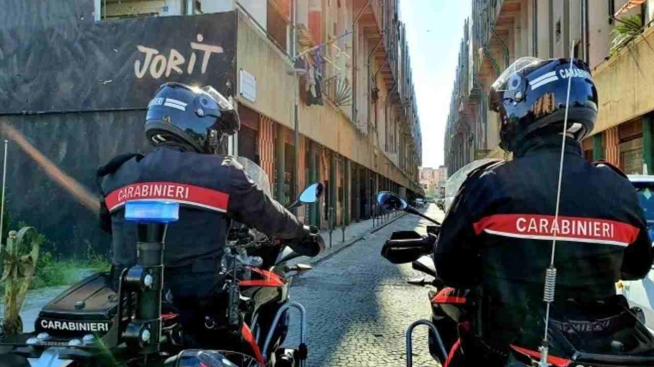Napoli blitz anticamorra