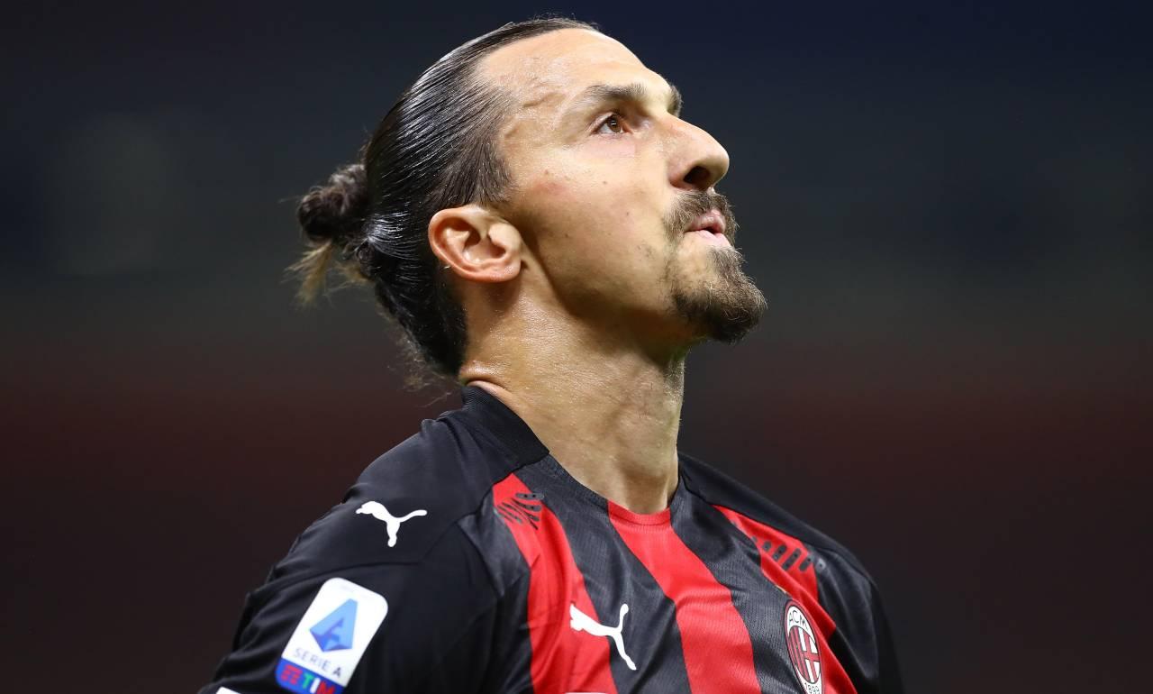 Ibrahimovic, niente da fare: il Milan l'ha tagliato fuori