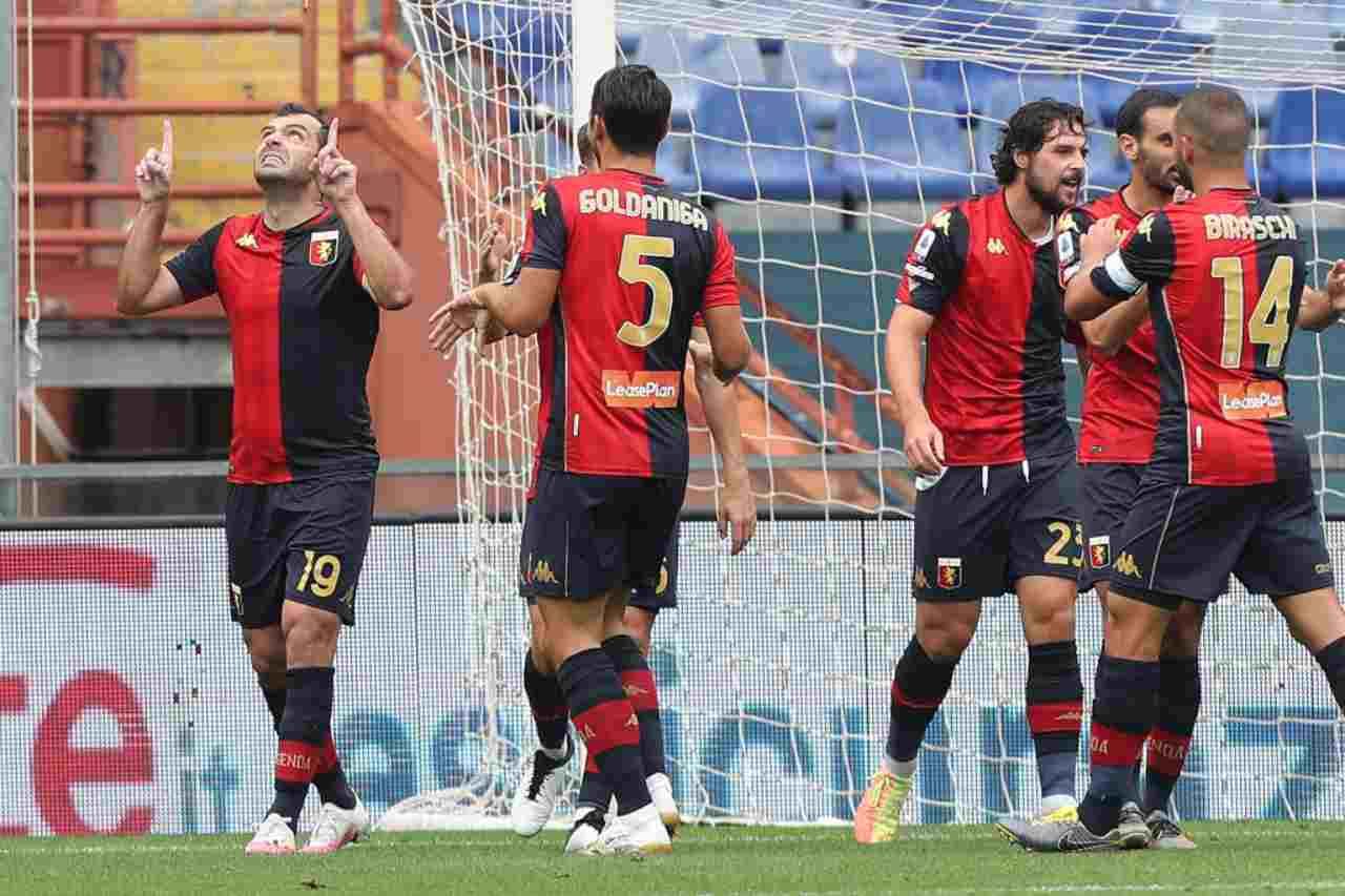 Serie A Genoa Torino