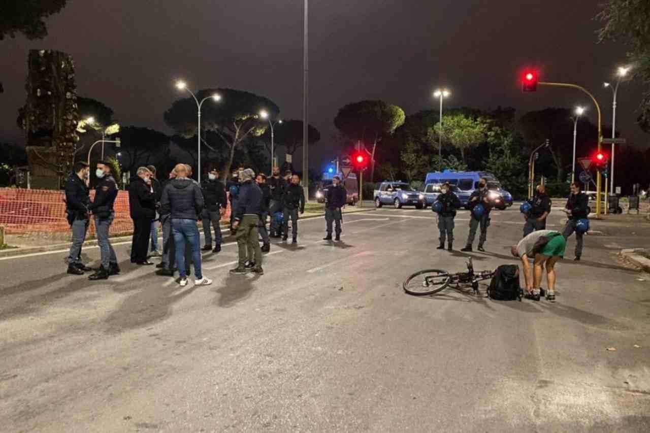 Covid proteste Roma