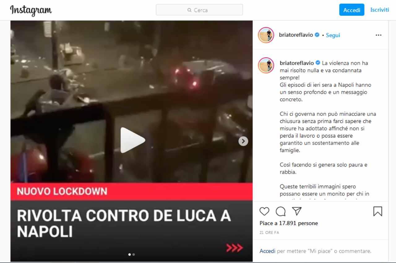 Lockdown Briatore