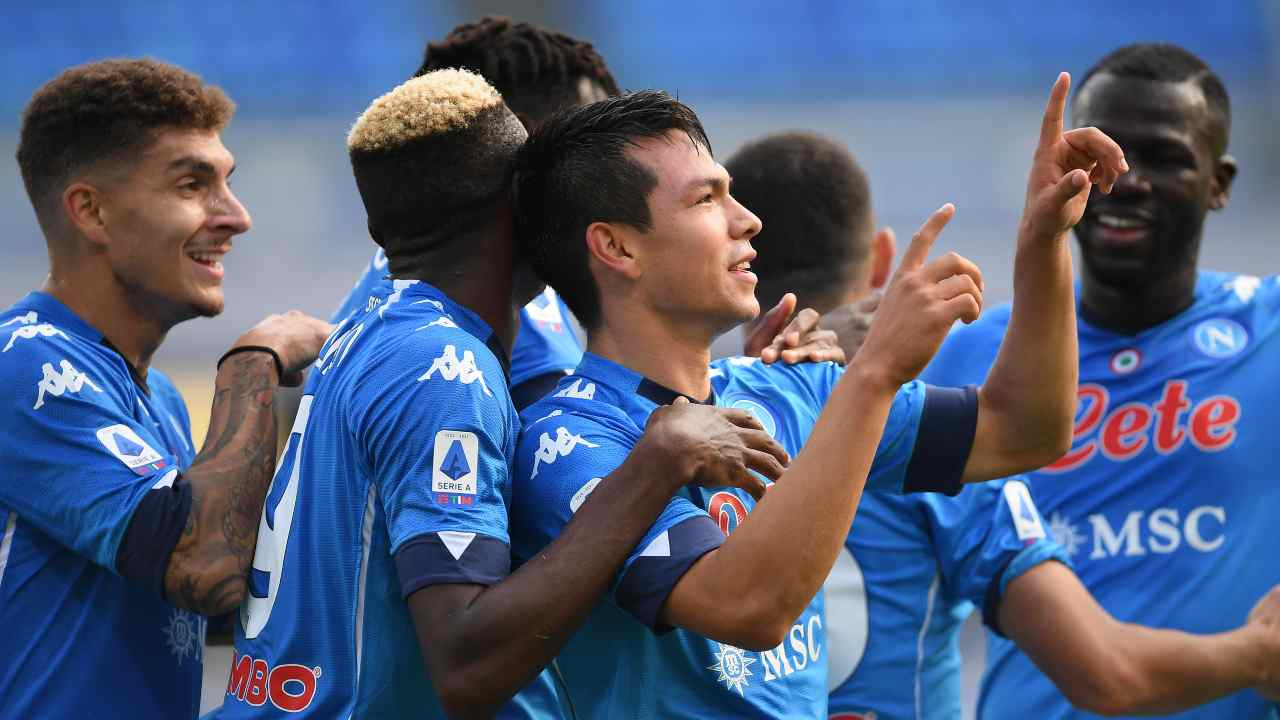 Napoli Atalanta highlights