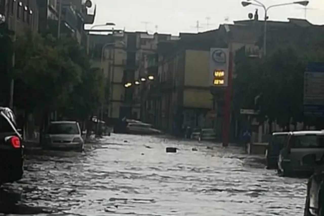Maltempo Napoli