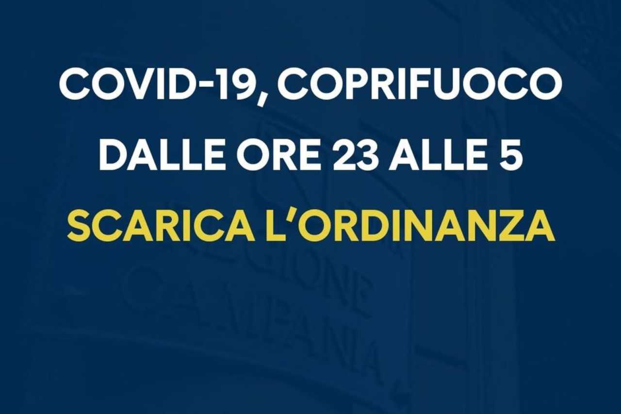 Campania Coprifuoco