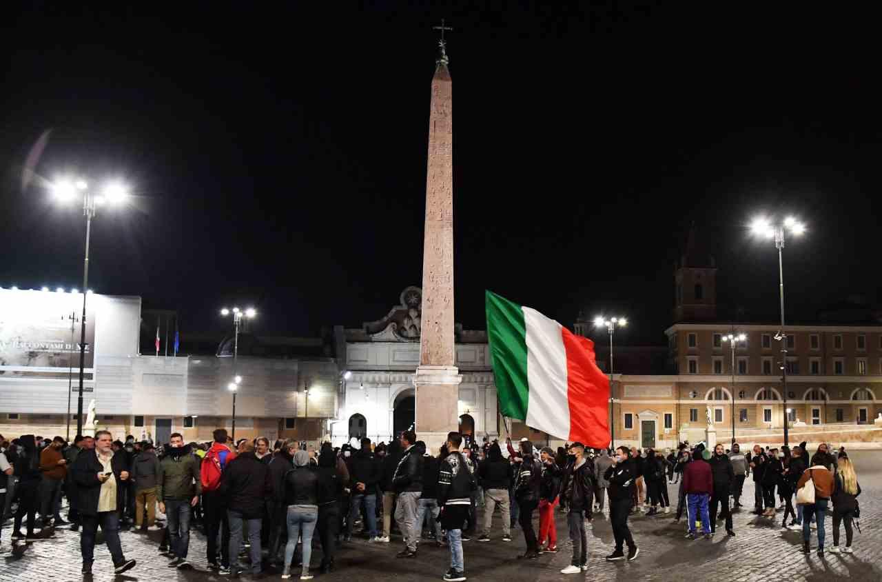Roma scontri