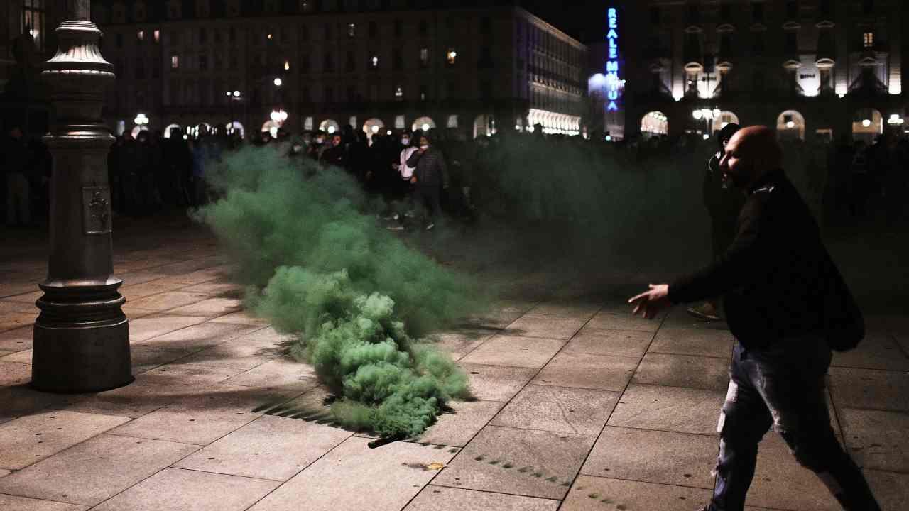 Torino scontri