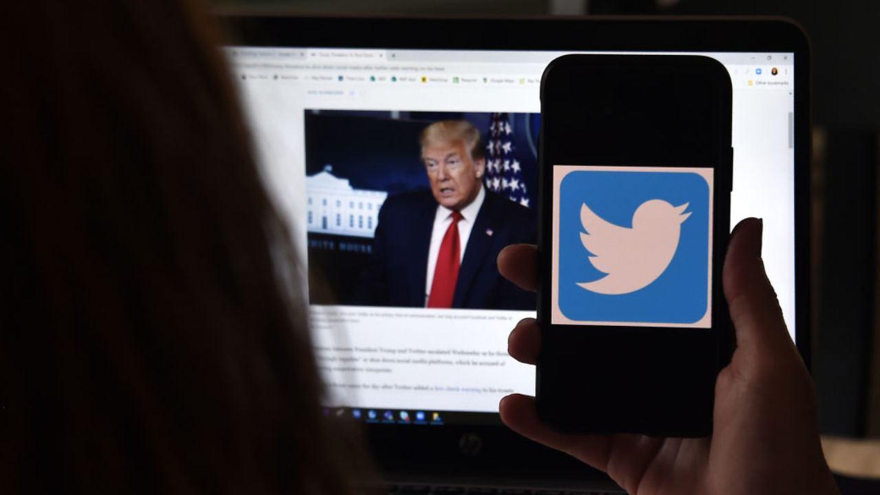 Trump piattaforma social