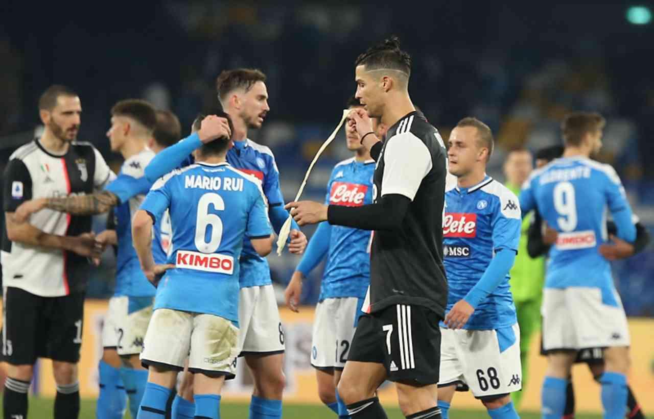 Juventus Napoli ricorso