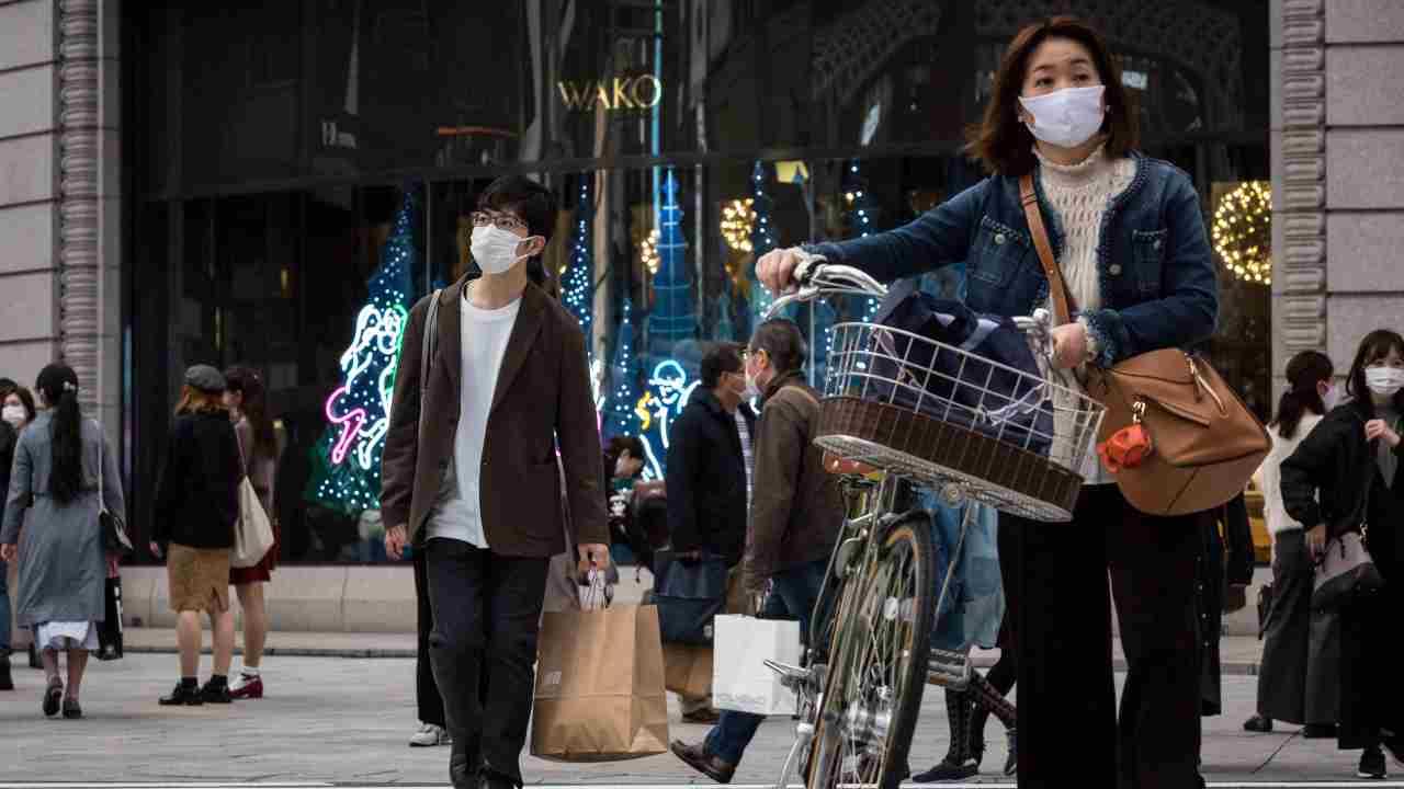 coronavirus Giappone