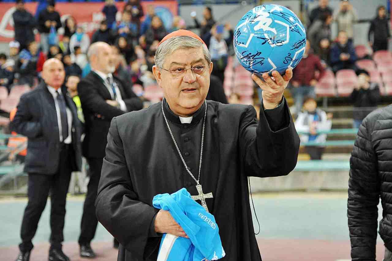 Maradona Cardinale Sepe