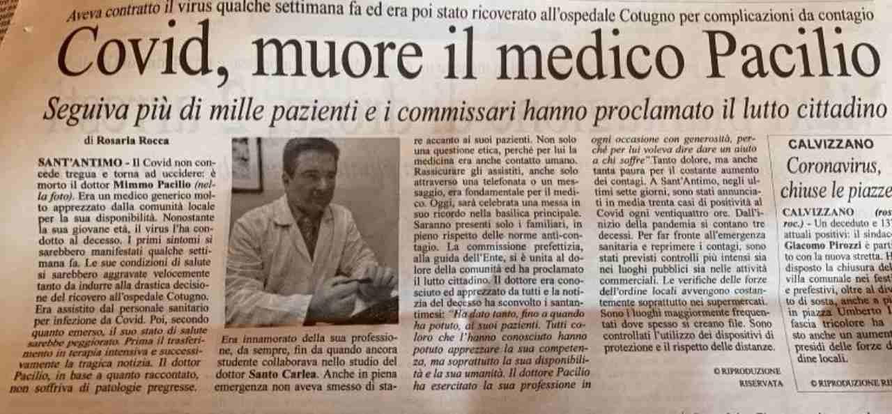 Covid Napoli