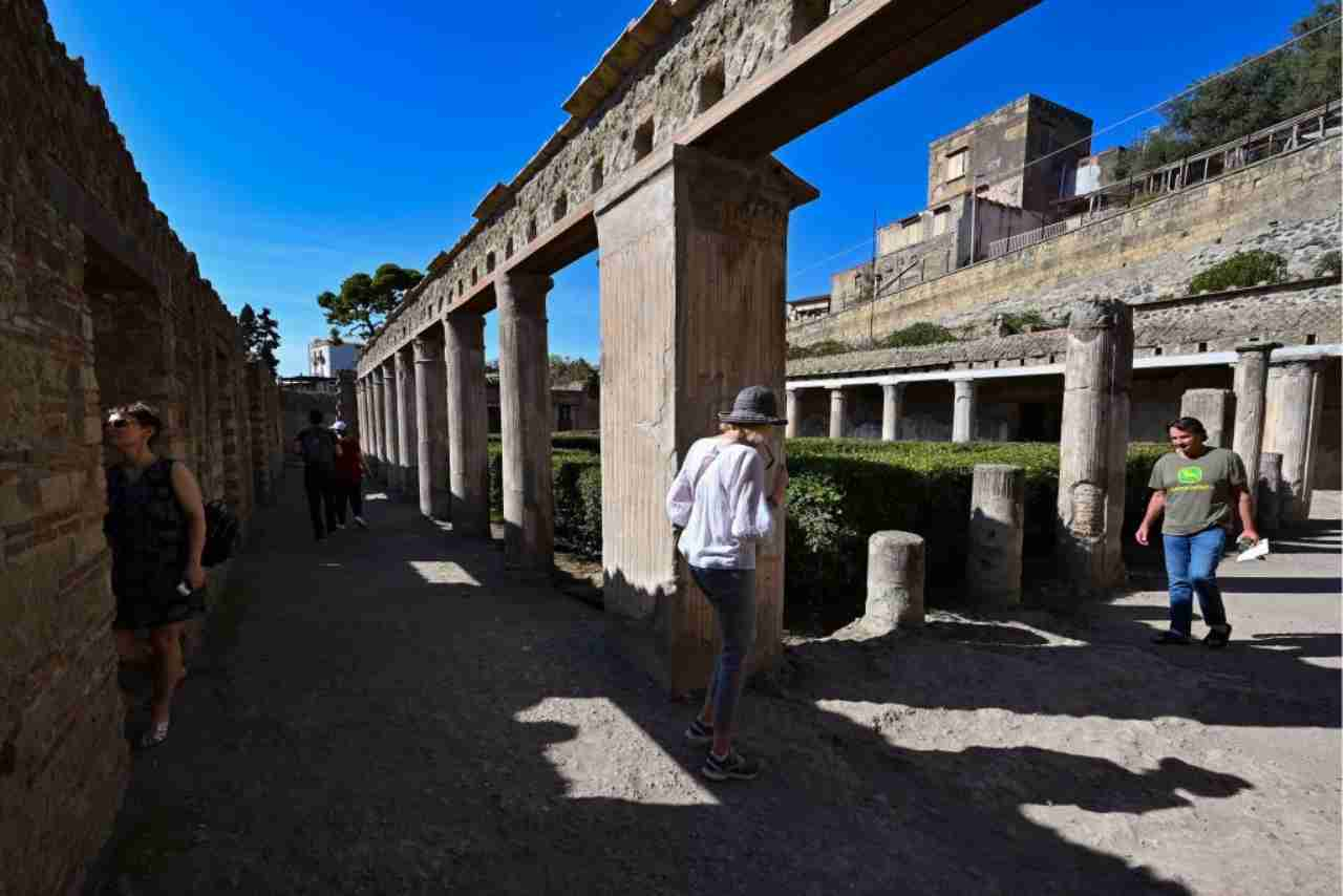 Ercolano parco archeologico