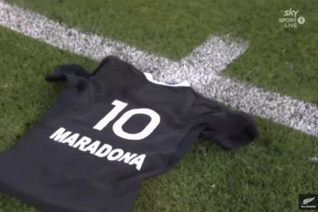 Maradona All Blacks