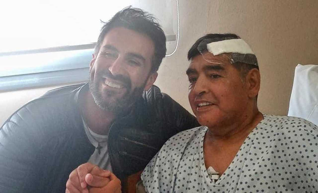 Maradona ospedale
