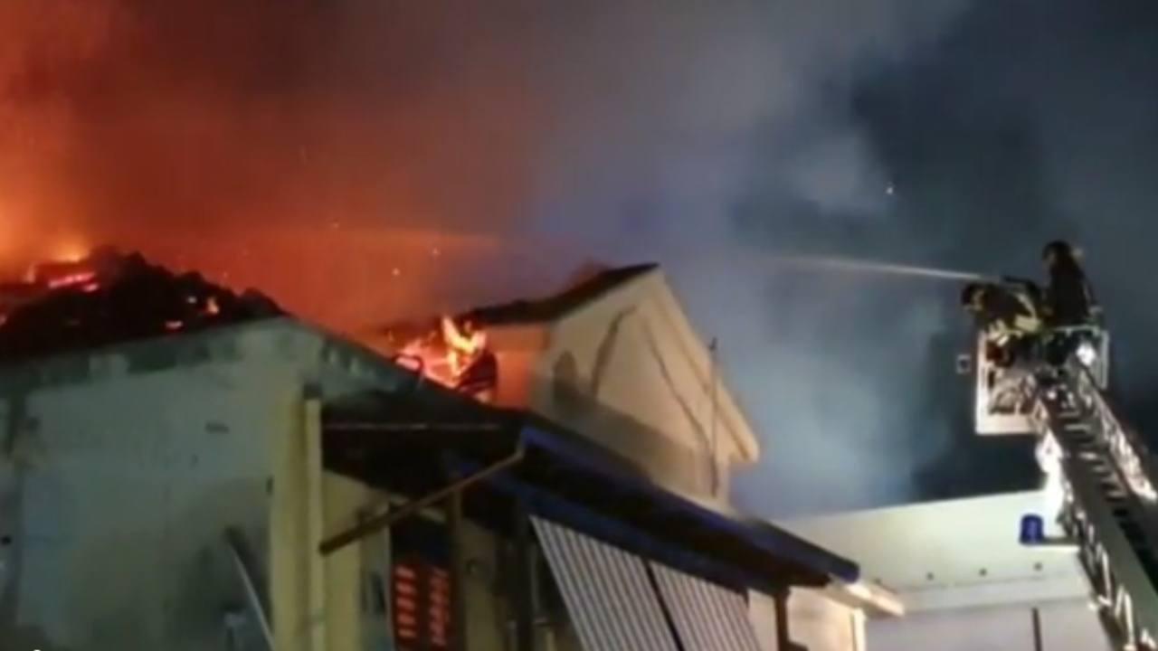 Messina incendio