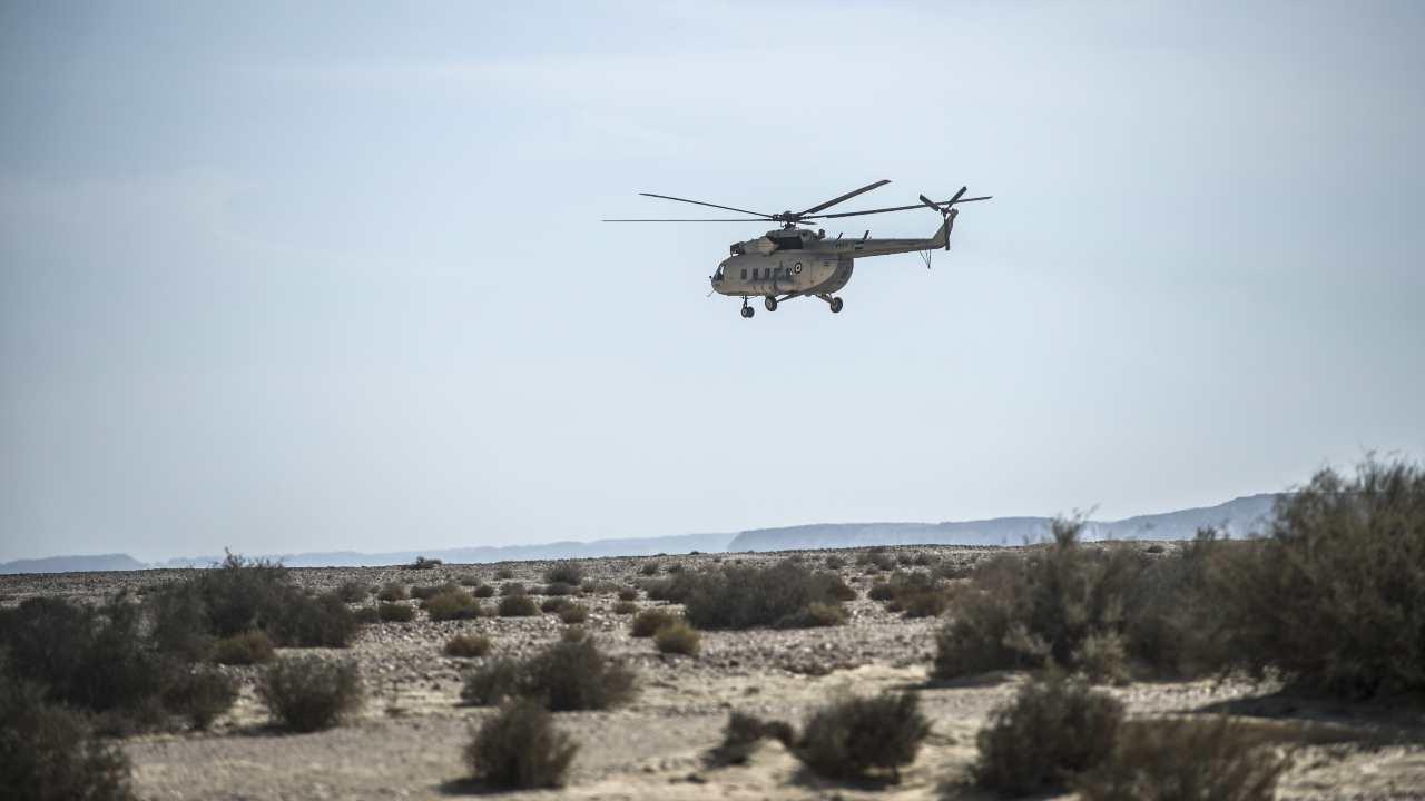 elicottero Sinai