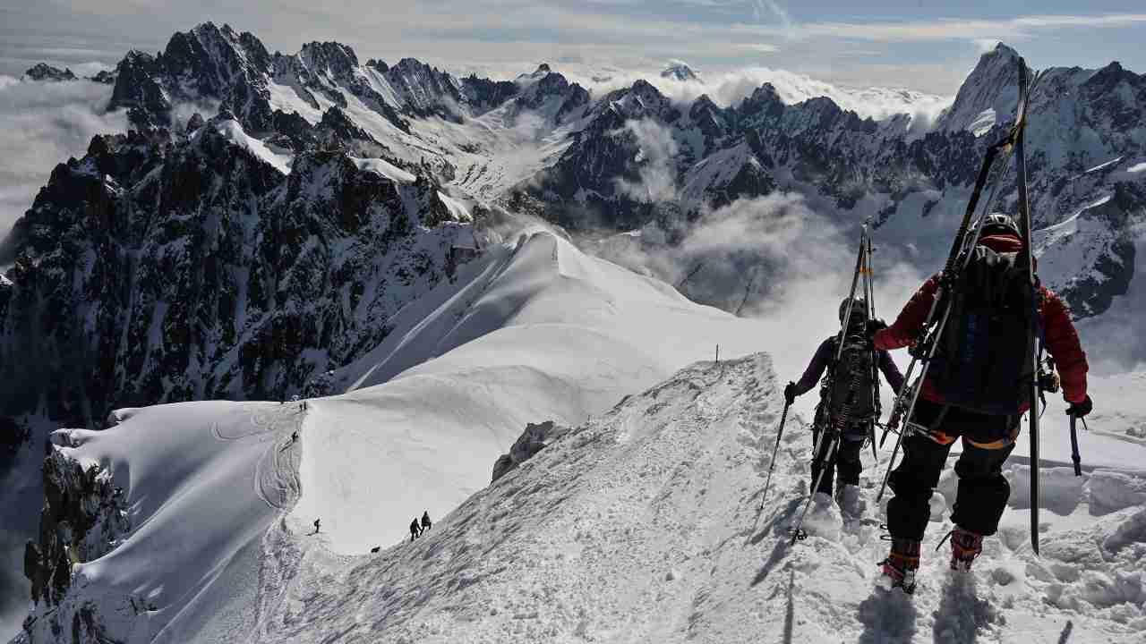 Gran Sasso alpinista