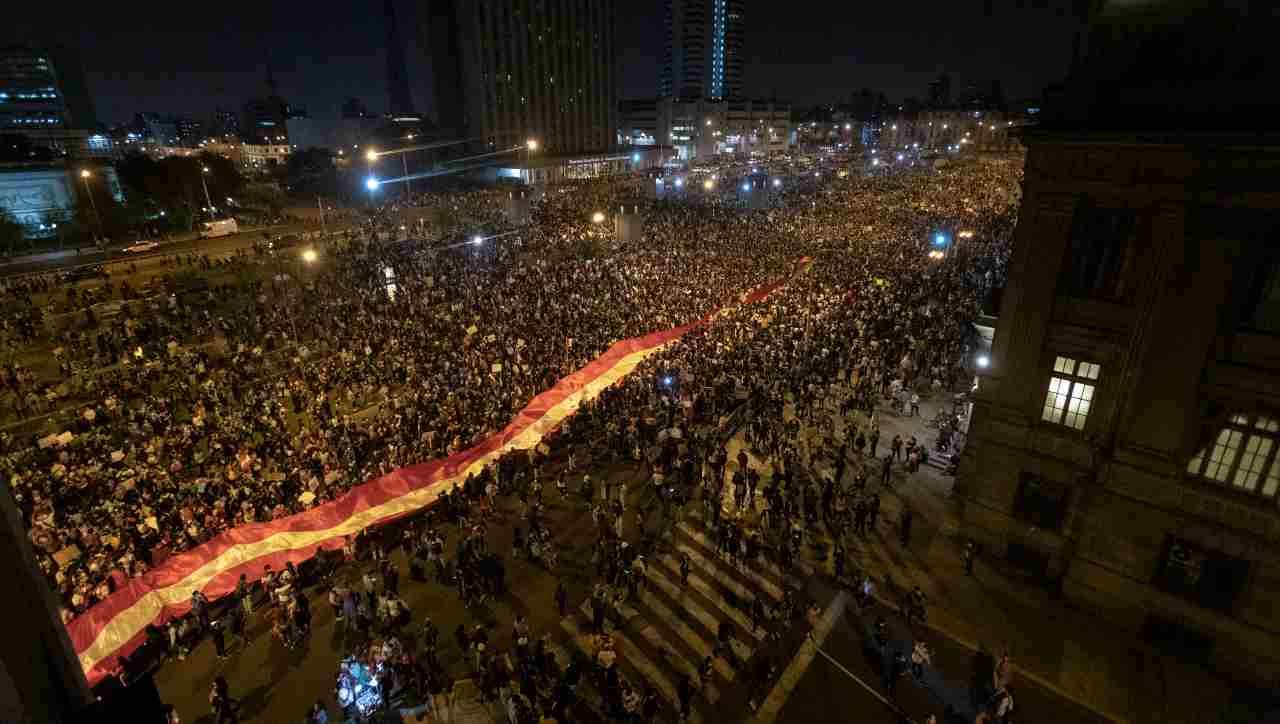 Perù proteste