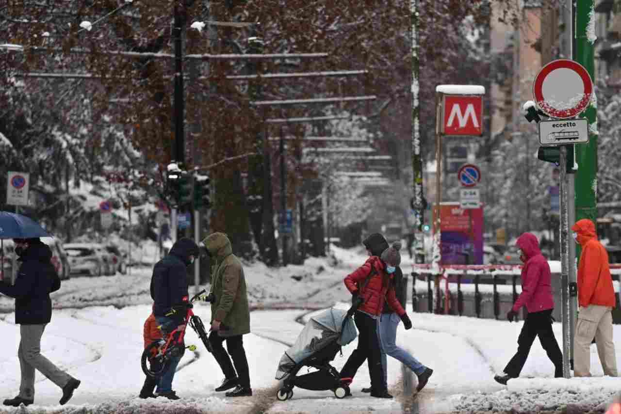 Milano Neve