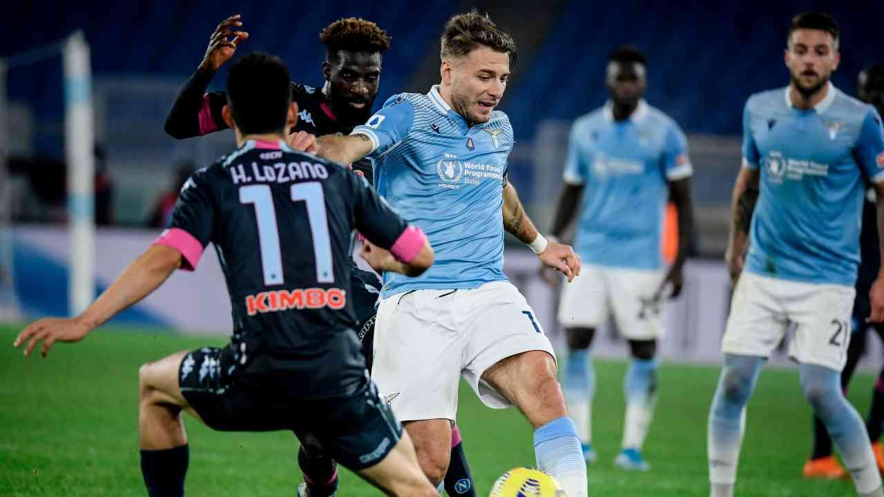 Lazio Napoli highlights