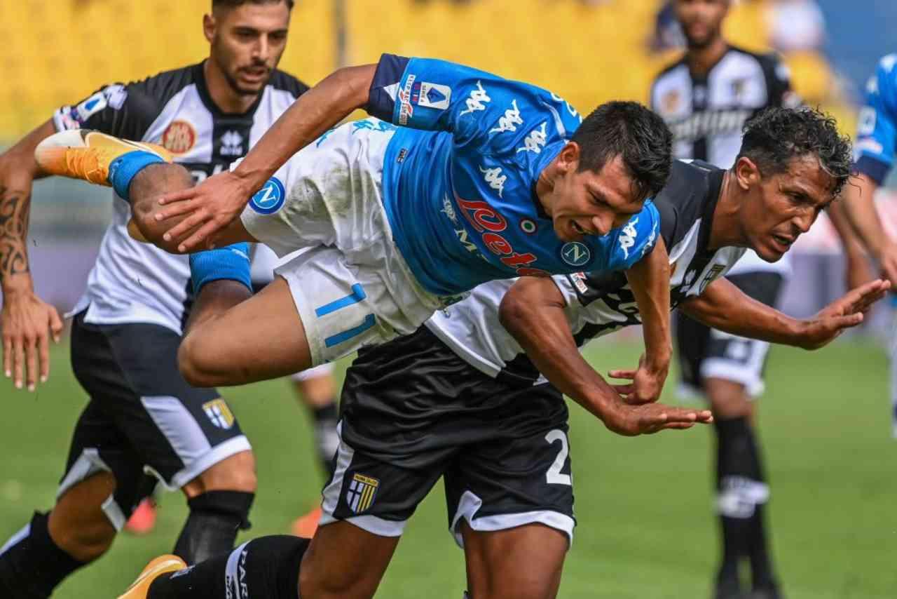Napoli Parma streaming gratis