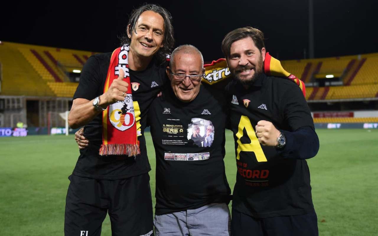 Inzaghi, Vigorito, Foggia