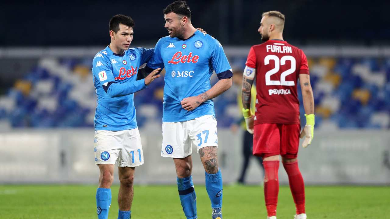 Juve Napoli Petagna