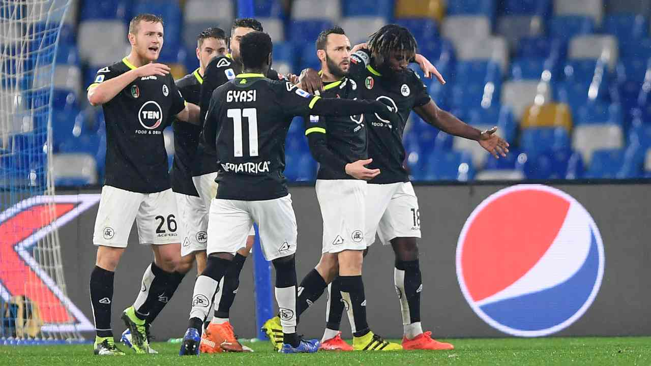 Napoli Spezia highlights