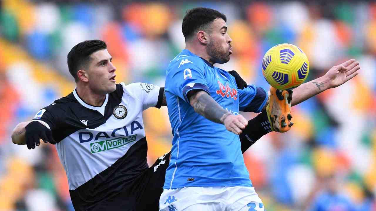 Udinese Napoli highlights