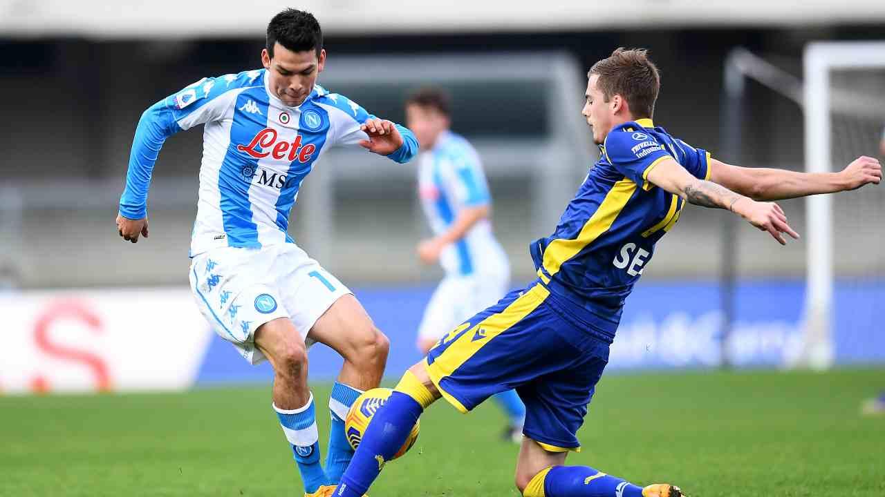 Verona Napoli highlights