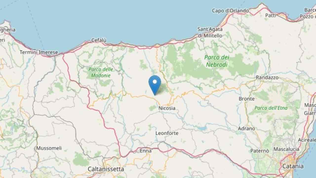 terremoto Enna