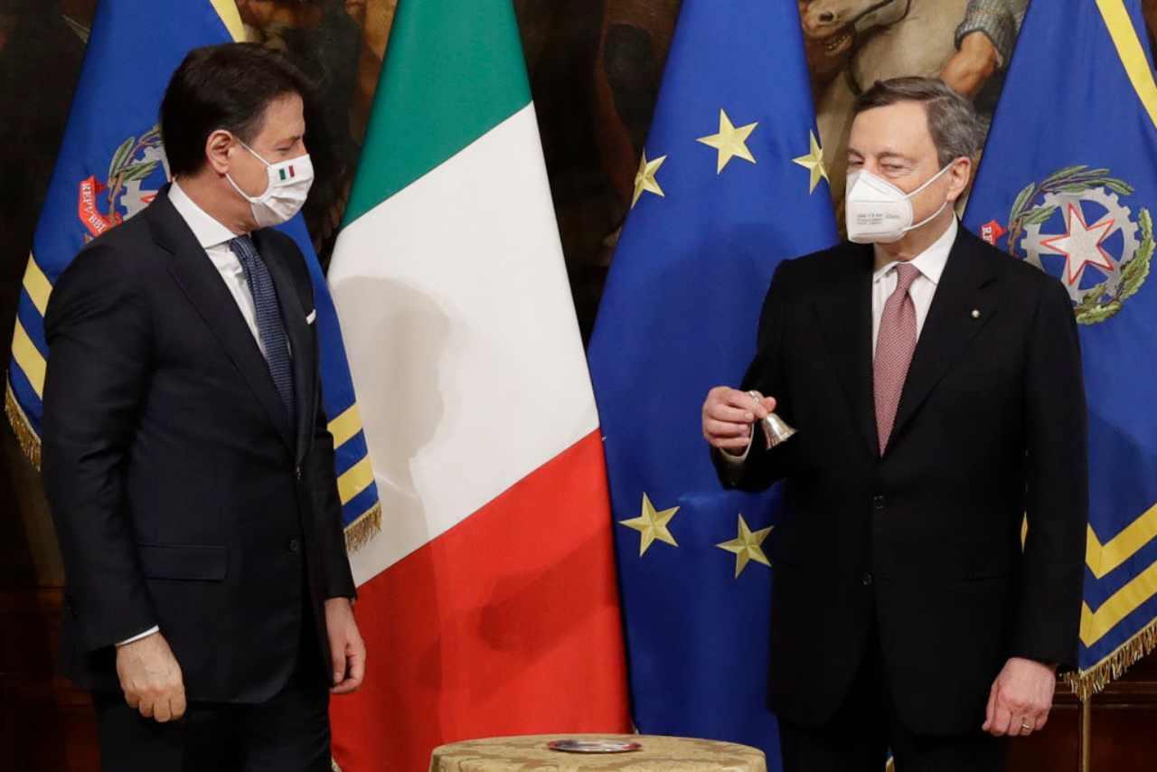 stipendio Draghi