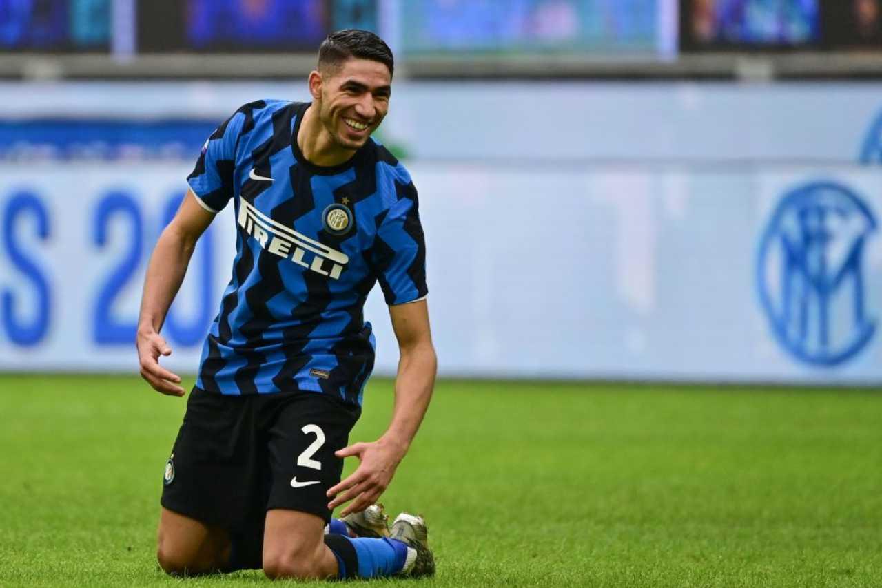 Calciomercato Napoli Hakimi
