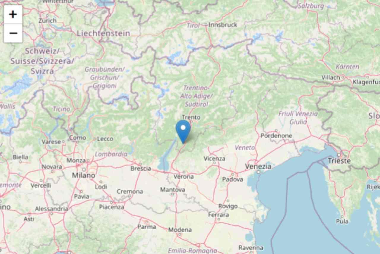 Terremoto Trento