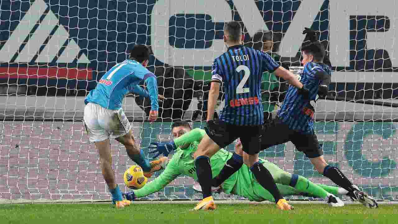 Atalanta Napoli highlights