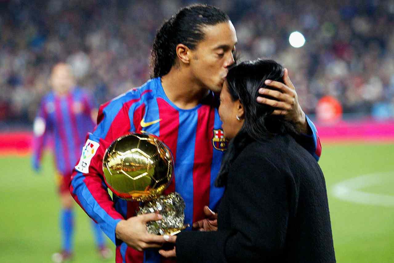Ronaldinho lutto