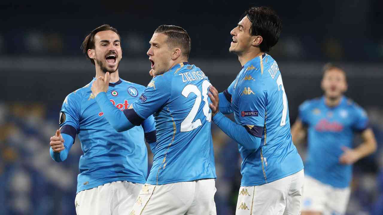 Napoli Granada highlights