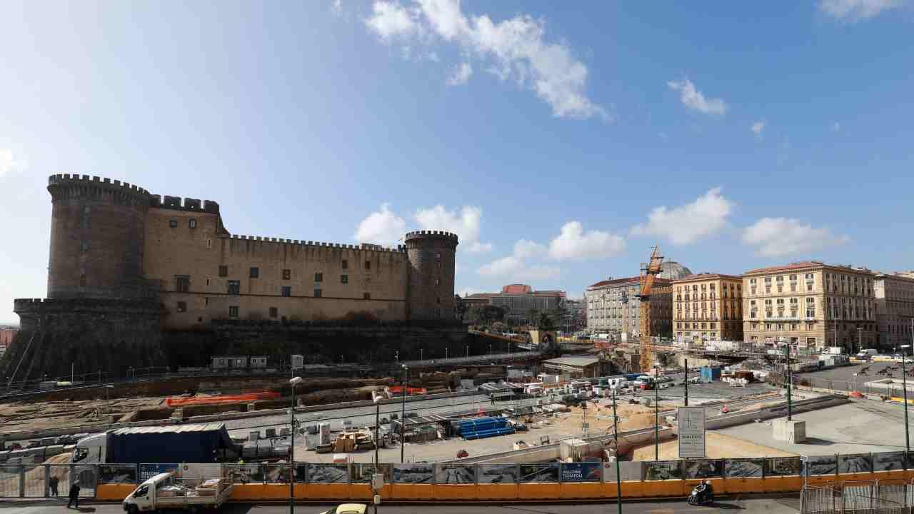 Napoli zona arancione