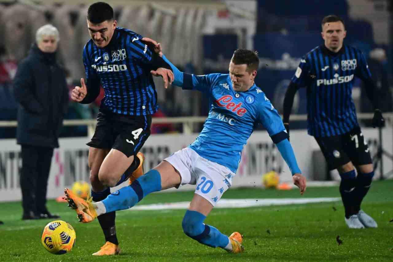Atalanta Napoli streaming gratis