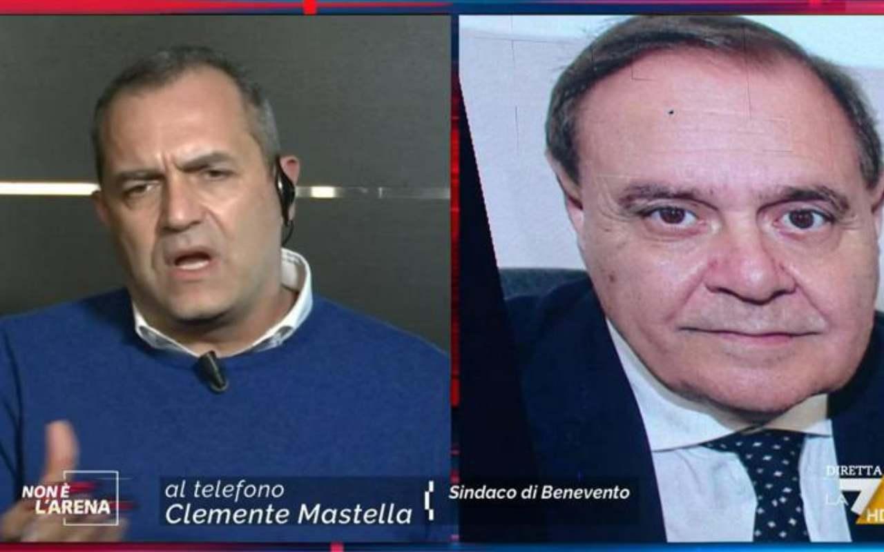 Scontro De Magistris-Mastella