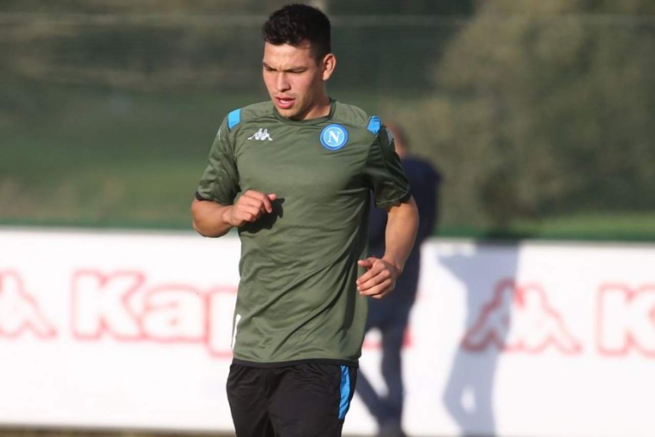 Napoli Lozano torna
