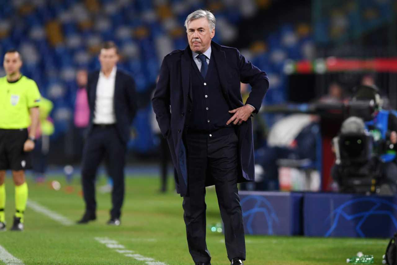 Calciomercato Napoli Ancelotti