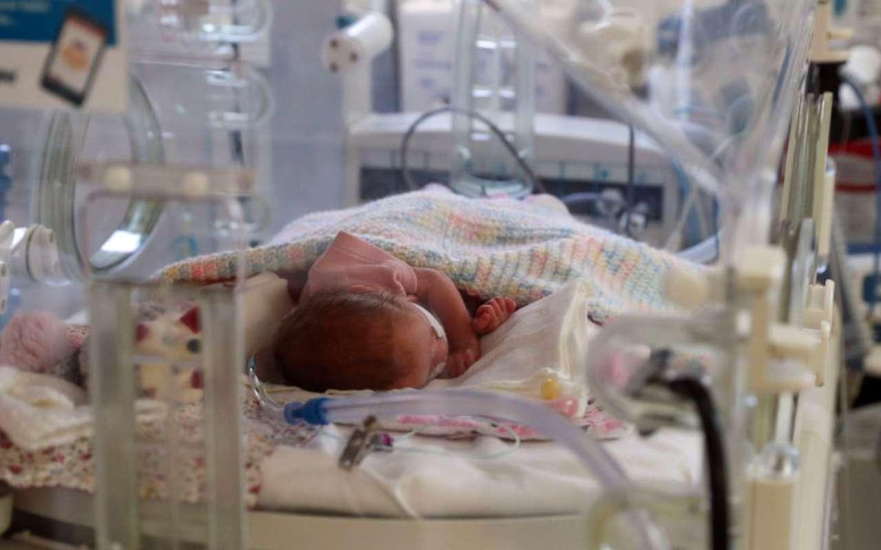 Portici neonata