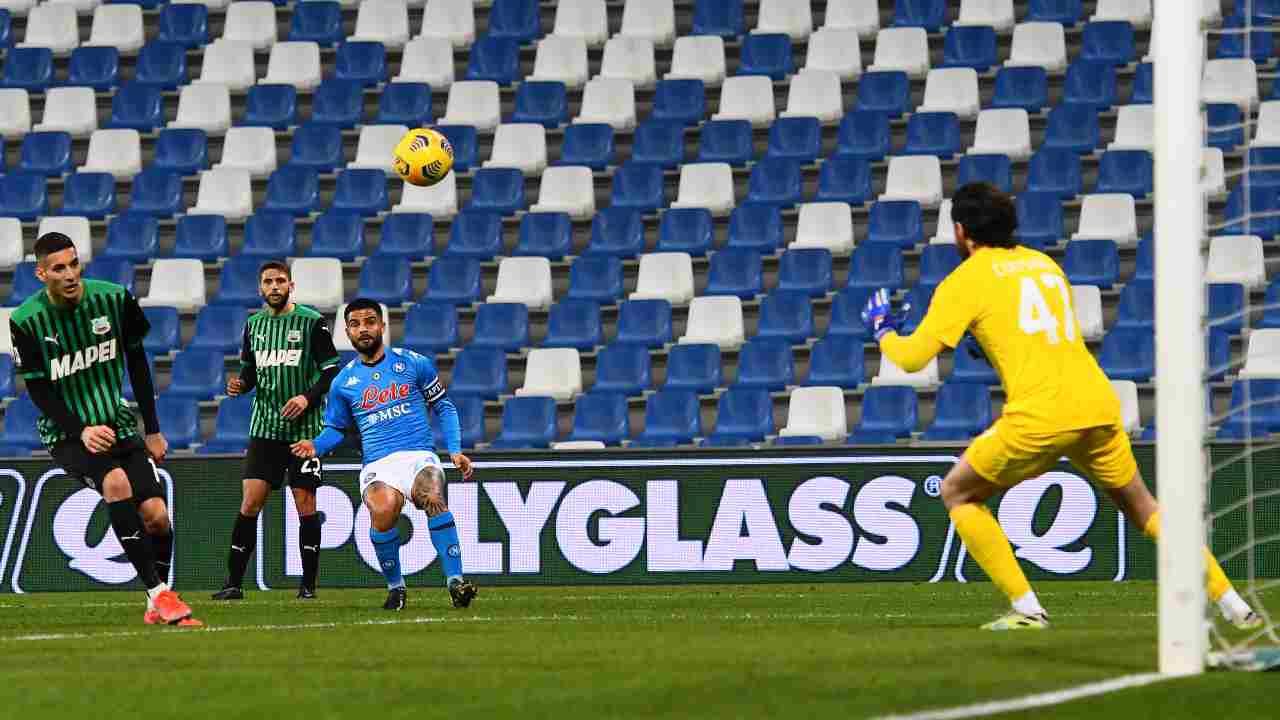 Sassuolo Napoli highlights