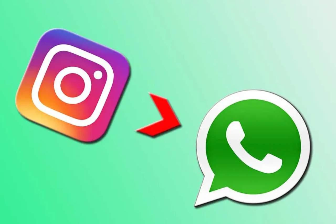 WhatsApp Instagram funzione