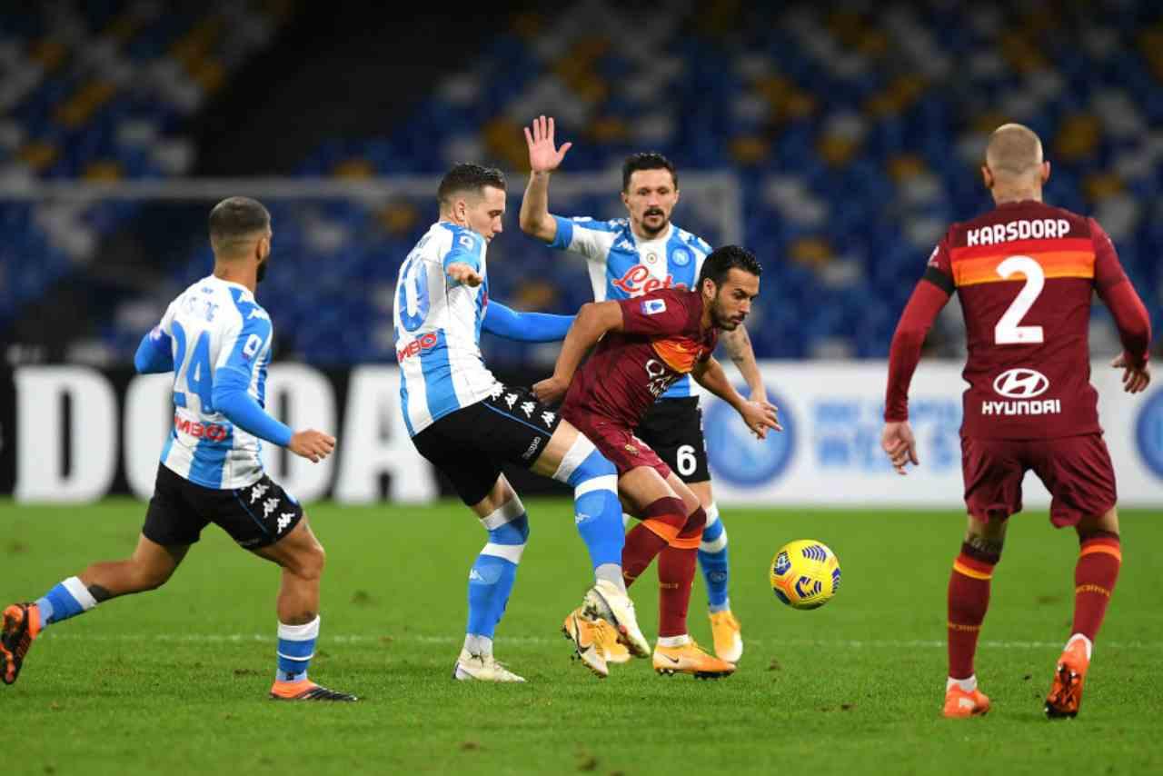 Roma Napoli streaming gratis