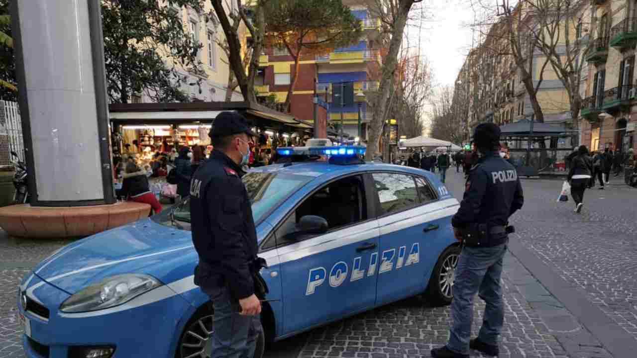Afragola 15enne polizia
